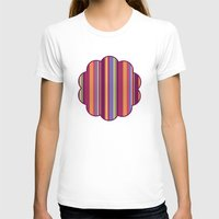stripe T-shirts featuring Stripe Marly by Shelly Bremmer
