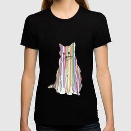 Color Drip Cat T-shirt