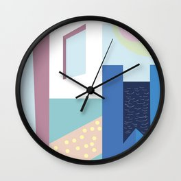 Hotel Mayfair Wall Clock