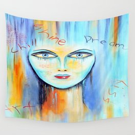 Abstract woman Wall Tapestry