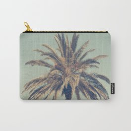 Retro palm tree Carry-All Pouch