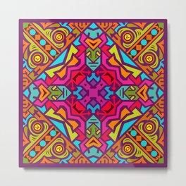 2018 Mandala #6 – Notebooks & more Metal Print