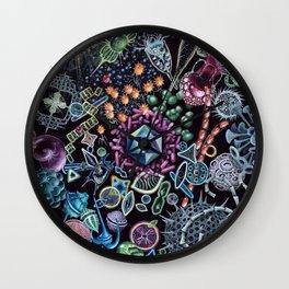 Marine Microorganims Wall Clock