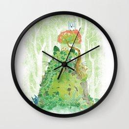 The Friendly Spirit Wall Clock