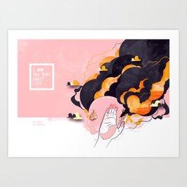 No Human #2 Art Print