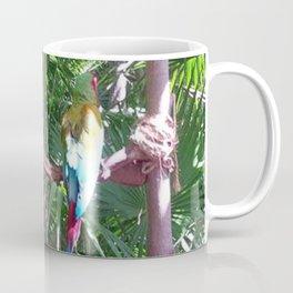 Macaws on the tree Coffee Mug