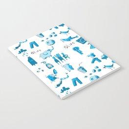 Blue Things Notebook