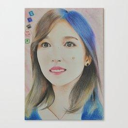 Kpop Twice Mina Canvas Print