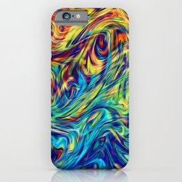 Fluid Colors G254 iPhone Case