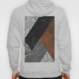 Marble, Granite, Rusted Iron Abstract Hoody