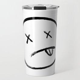 Dead eyes black Travel Mug