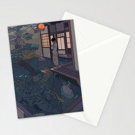 Naoki and the Crocodile Stationery Cards