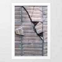BA broken tiles Art Print
