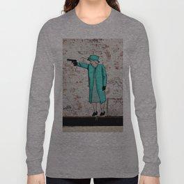 Street Art London Queen Thug Urban Wall Graffiti Artist Prolifik Long Sleeve T-shirt