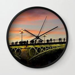 Bridge Life Wall Clock
