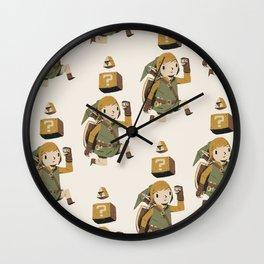 triforce power up Wall Clock