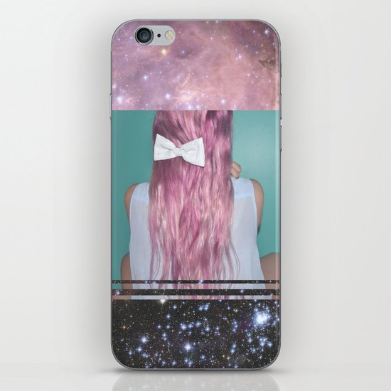 Nebula Girl iPhone & iPod Skin