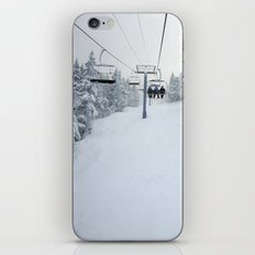 Skiing Vermont iPhone & iPod Skin