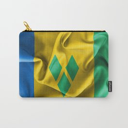 Saint Vincent and the Grenadines Flag Carry-All Pouch