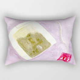 Tea Bag Rectangular Pillow