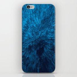 Bold Burst in Blue iPhone Skin