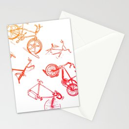 summer bikes Stationery Cards