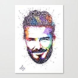 BECKHAM Canvas Print