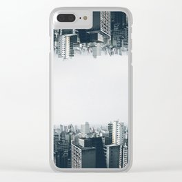 Mirror world Clear iPhone Case