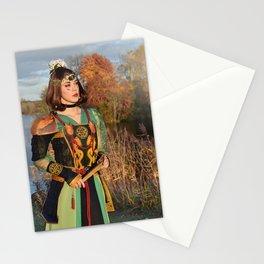 Fan warrior Stationery Cards