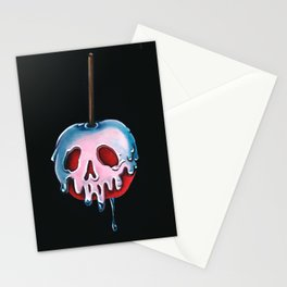 """Disney's Snow White Inspired """"Poisoned Candied Apple"""" Stationery Cards"""