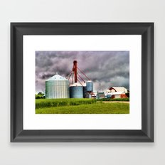 mill Framed Art Print