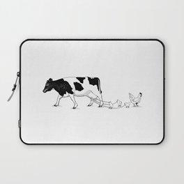 Cow vs. Chicken Laptop Sleeve