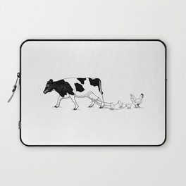 Cow vs. Chicken Laptop Sleeve