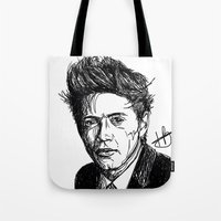 niall horan Tote Bags featuring Niall Horan by Hollie B