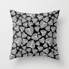 Black White Pattern Throw Pillow