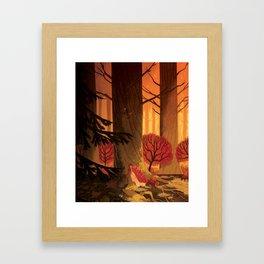 Blindsprings Page Five Framed Art Print