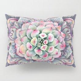 succulent mandala 5 Pillow Sham