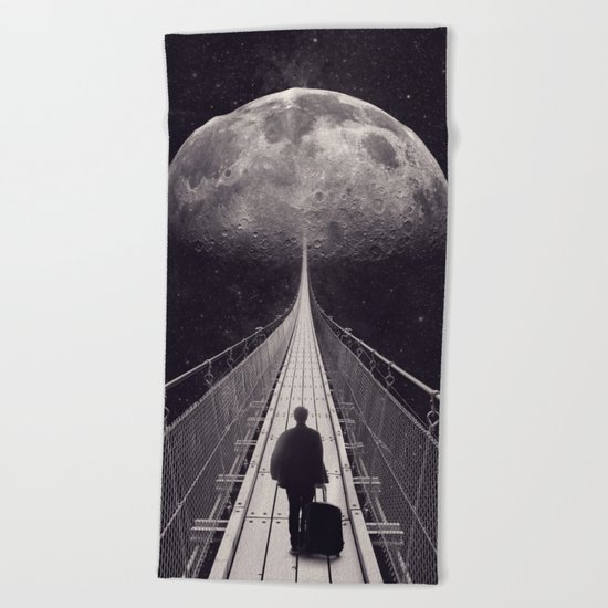 Space Trip Beach Towel
