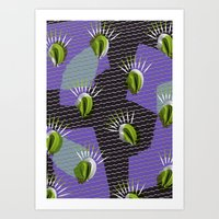 shell Art Prints featuring Shell by [Oxz]