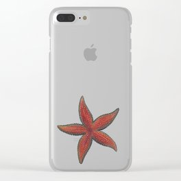 Sea Star Clear iPhone Case