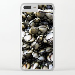 Gooseneck Barnacles Clear iPhone Case
