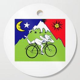 Lsd Bicycle Cutting Board