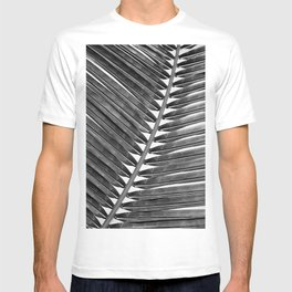 Palm Leaf 2 - Black & White T-shirt
