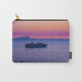 Cruise Ship at dusk Carry-All Pouch