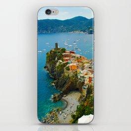 Vernazza Italy - Italian Riviera iPhone Skin