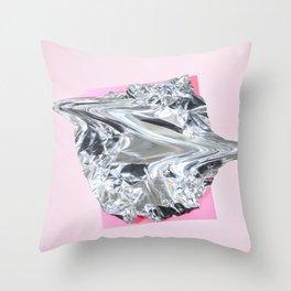 cellophanexpink Throw Pillow