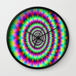 Psychic illusion Wall Clock