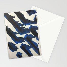 Blue Print Stationery Cards