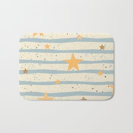 Star Pattern Bath Mat