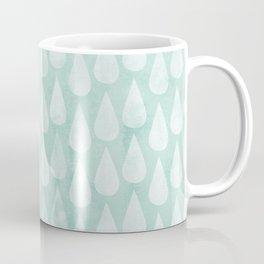 Big Drops Blush Blue Coffee Mug